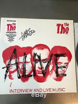 The The signed by Matt Johnson promo LP / Album / Vinyl (Mind Bomb Soul Mining)