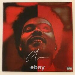 The Weeknd After Hours Deluxe 2LP Vinyl Limited Autograph Signed 12 Record