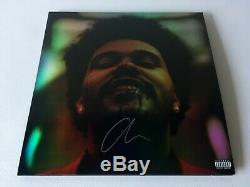 The Weeknd After Hours Holographic Cover Vinyl 2XLP + Signed Cover Auction