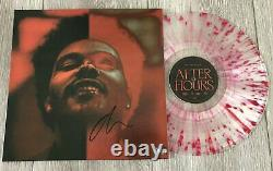 The Weeknd Signed Autograph After Hours Deluxe Vinyl Record Album