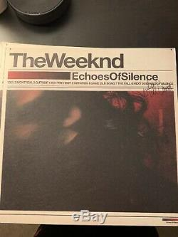 The Weeknd Trilogy vinyl RARE Signed