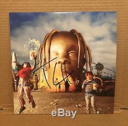 Travis Scott Autographed Astroworld Vinyl LP Record (Drake, Cactus Jack, Rodeo)