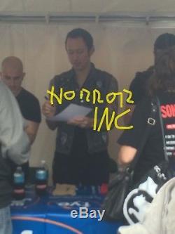 Trivium Autographed Signed Vinyl Album With Signing Picture Proof
