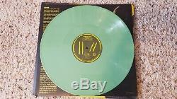 Twenty One Pilots Trench Signed Olive Green Vinyl Plus Sealed Yellow Green