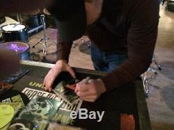 Underoath Erase Me Vinyl Autographed 6-piece Acid Gren Set