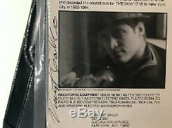 Vincent Gallo THE WAY IT IS Soundtrack LP Mint Sealed Signed Vinyl copy