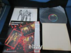 W. A. S. P L. O. V. E. Machine Japan Vinyl 12 inch Single w OBI Signed Card WASP Love