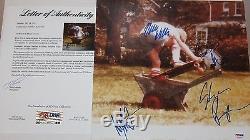 Wavves Group Signed Autographed Album Vinyl Self Tilted Music Psa/dna Loa