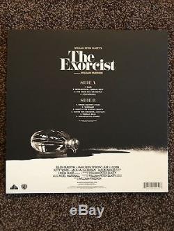 Waxwork Records The Exorcist Vinyl Linda Blair Autographed Death Waltz Mondo