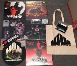 Waxwork Records Vinyl Signed Variants 64 Records Creepshow THING Evil Dead F13th