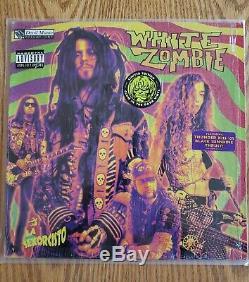 White Zombie La Sexorcisto original pressing on glow in the dark vinyl SIGNED