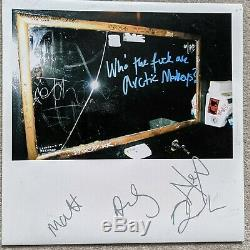 Who the Fuck Are Arctic Monkeys Signed 10 Vinyl