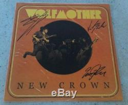Wolfmother New Crown fully SIGNED vinyl LP