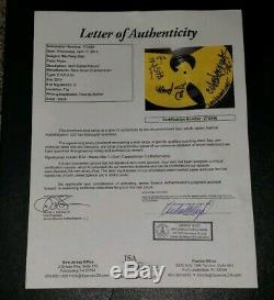 Wu Tang Clan Signed Record Store Day CREAM Vinyl Jsa Limited Edition Rare